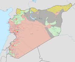 Syria Conflict Map Best Photos Of Syria Civil War Map Syrian Civil War Map 2014