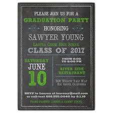 graduation invitation wording paperstyle