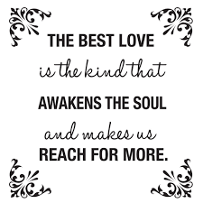 the best love is the kind that awakens the soul wall decal home the best love is the kind that awakens the soul wall decal home wall