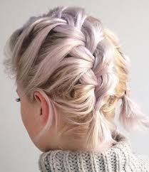 hairstyle with 2 shoulder braids best 25 french braid short hair ideas on pinterest short hair