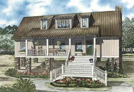 lakeside cottage plans elevated lakeside cabin 59952nd architectural designs house