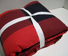 Buffalo Plaid Duvet Cover Checked Duvet Covers And Bedding Sets Ebay