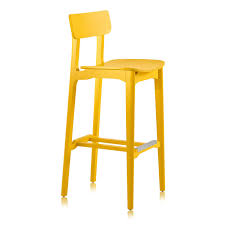 Yellow Chair Contemporary Bar Chair Wooden Contract Yellow Cacao L Sg