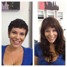 extensions on very very short hair 278 best before after hair extensions images on pinterest hair