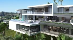 two modern mansions on sunset plaza drive in la modern mansion