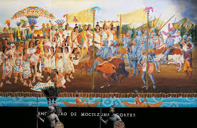 si e de mural review empires collided when montezuma met cortés wsj