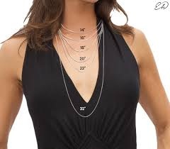 necklace neck sizes images Size guide choose the right jewelry size envyher jpg