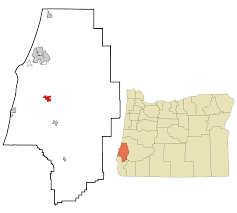 Oregon Map Of Cities And Towns by Coquille Oregon Wikipedia