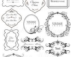 ornamental frames etsy