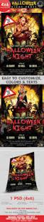 halloween party flyer ideas crow logo bird crow dark forest logo horror night