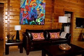 Livingroom Theatre Portland Home Decor Log Cabin Living Rooms Room Rustic Designing Tips With