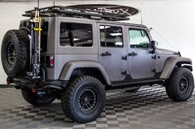 jeep lifted 2017 2017 jeep wrangler rubicon unlimited gray line x