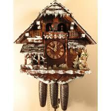 Modern Coo Coo Clock 8 Day Musical Cuckoo Clocks Hand Carved German Clocks