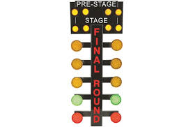 just in time for the holidays the drag racing tree from