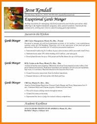 10 chef cv template word weekly template