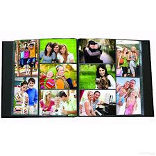 pioneer 300 pocket photo album 300 pocket black leatherette frame cover photo album by pioneer