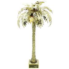 Tree Floor Lamp Palm Tree Floor Lamps With Giant Maison Jansen Lamp At 1stdibs And