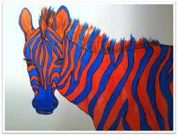 complementary paint colors the smartteacher resource complementary zebras a 5th grade