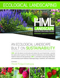 eco landscaping hml landscape construction u0026 maintenance