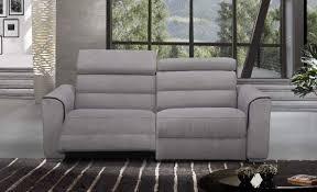 canapé confort confort loft canape 3 places relax electrique cuir ou tissu avec