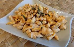 cuisiner tofu poele poêlée au tofu et poulet façon asiatique recette dukan pp par
