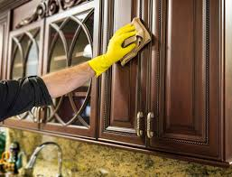 how to clean grease off kitchen cabinets kenangorgun com