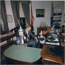 Desk In Oval Office by The Story Of The White House Potus Desk