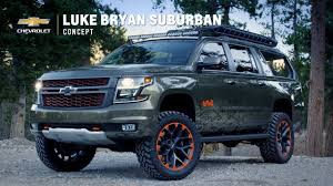 concept chevy chevrolet suburban concept by luke bryan youtube