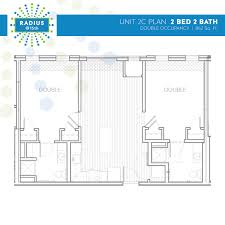 4 Unit Apartment Building Plans Radius Housing And Residential Life