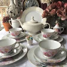 39 best vintage china sets shabby chic images on pinterest