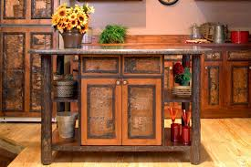 hickory kitchen island hickory kitchen island w customer supplied top the log