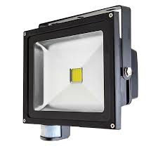 Defiant Security Light Motion Detector Led Light With Defiant 180 Degree Bronze Activated