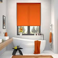 Colourful Roller Blind Bathroom Orange Roller Blinds Bright Funky U0026 Zesty Blinds 2go