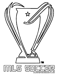 mls cup coloring soccer coloring pages mls cup