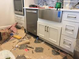 what is standard for toe kick on kitchen cabinets running toe kick dishwasher diy home improvement forum