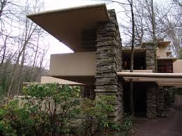 Frank Lloyd Wright Inspired House Plans by Fallingwater Pictures