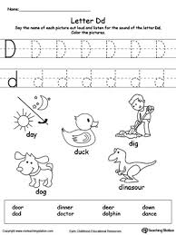 letter d words for kindergarten letter idea 2018