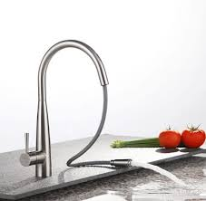 designer kitchen taps contemporary single handle brass mixed pull out kitchen tap tn0823