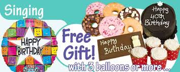 singing birthday delivery singing musical birthday balloons inflated helium balloon delivery