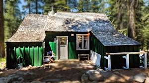 Small House Cabin 500 Sq Ft Cabin In Twin Bridges Forest California Beautiful