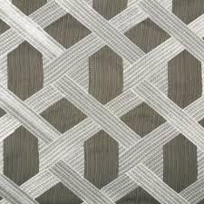 dark grey embroidered geometric upholstery fabric custom grey