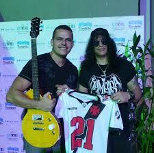 vasco e slash club de regatas vasco da gama lenda do rock guitarrista slash