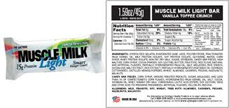 muscle milk light bars are you eating these two unhealthy diet foods