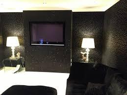 wallpapers animal print for living room glitter wallpaper living