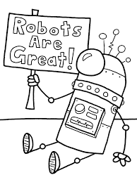 robot coloring pages for boys printable coloringstar