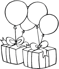 birthday clipart birthday balloons clipart black and white clipartxtras