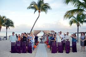 azul fives wedding wedding ceremony on the picture of azul resort the