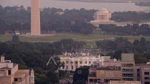Youtube Whitehouse Flying By The White House Washington D C Sunset Aerial Stock