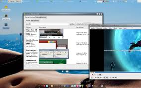 Awn Linux Xfce Awn Compiz Emerald Screenlets Youtube