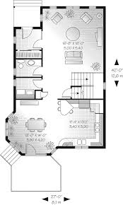 mullen narrow lot home plan 032d 0365 house plans and more